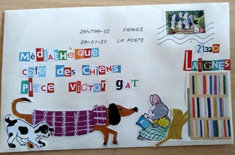 Art postal 105